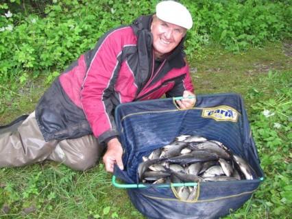 my day 2 catch 12,400 kg