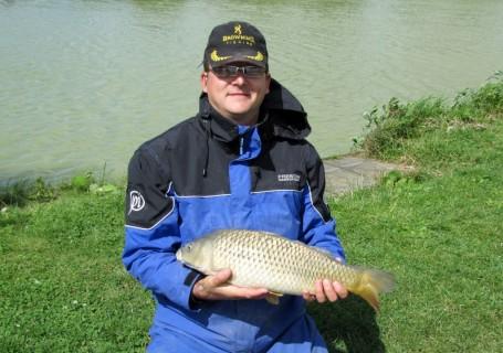 a 4lb common carp