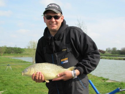 a 3lb common carp