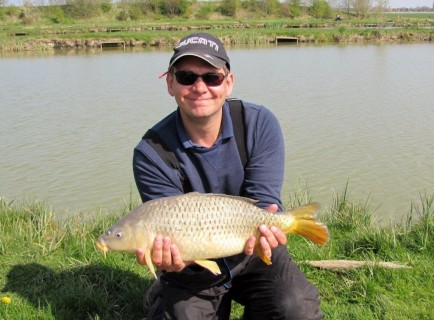 a 6lb common carp in perfect condition