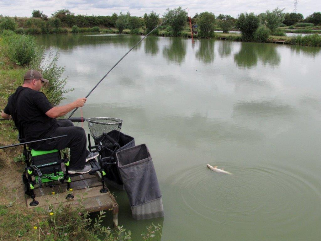 July 2015 Baarbeel 5kg A Big Barbel Breaks The Surface