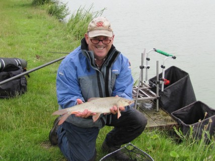 Billy was soon catching quality barbel