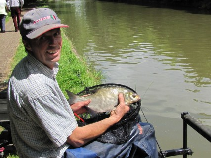 a 2lb bream in perfect condition