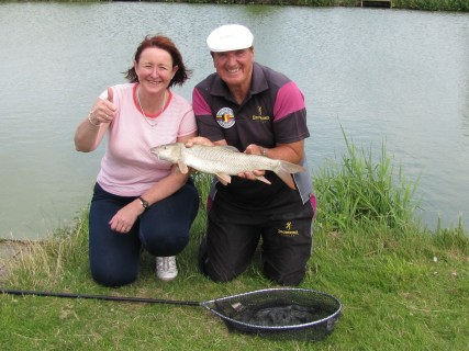 great fun catching these big barbel