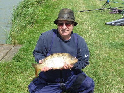 a big common about 8lbs